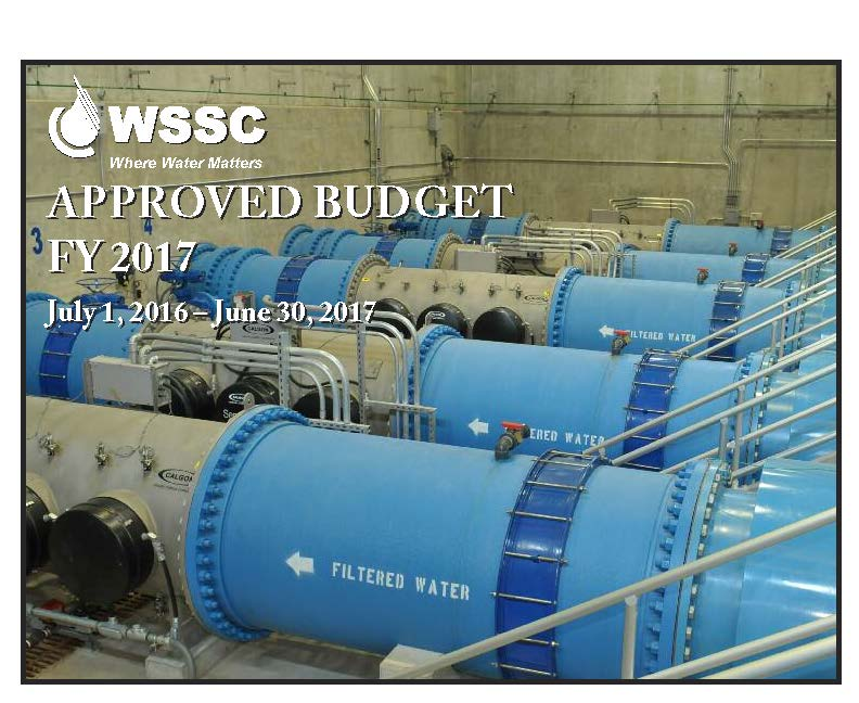 FY'17 Approved Budget