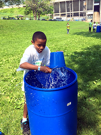 water bucket filling - how much water do you use?
