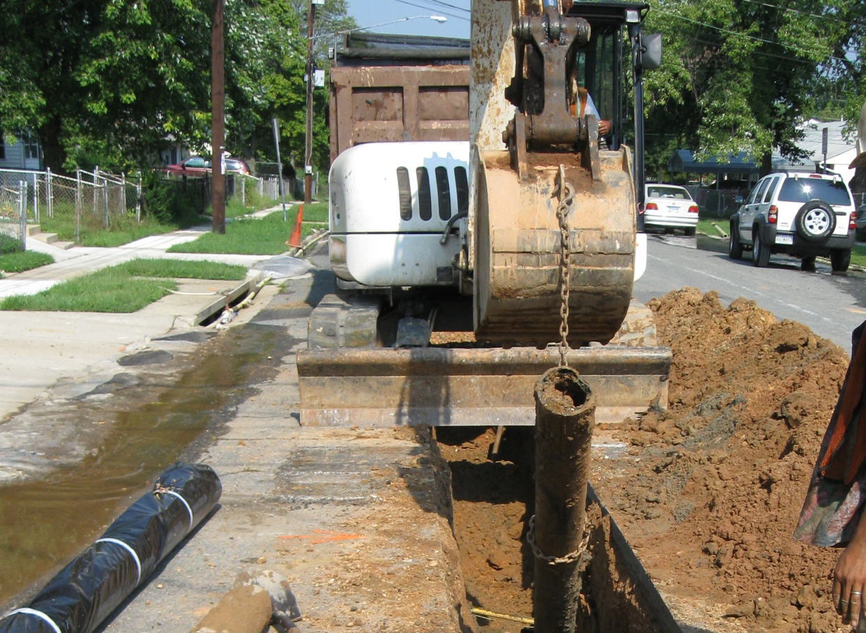 Water Pipeline Infrastructure Improvement
